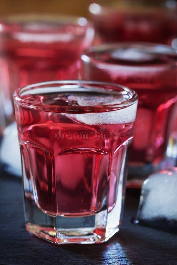 Tradycyjny domowej roboty wino obraz stock