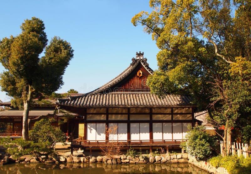 Tradycyjny drewniany dom obraz stock