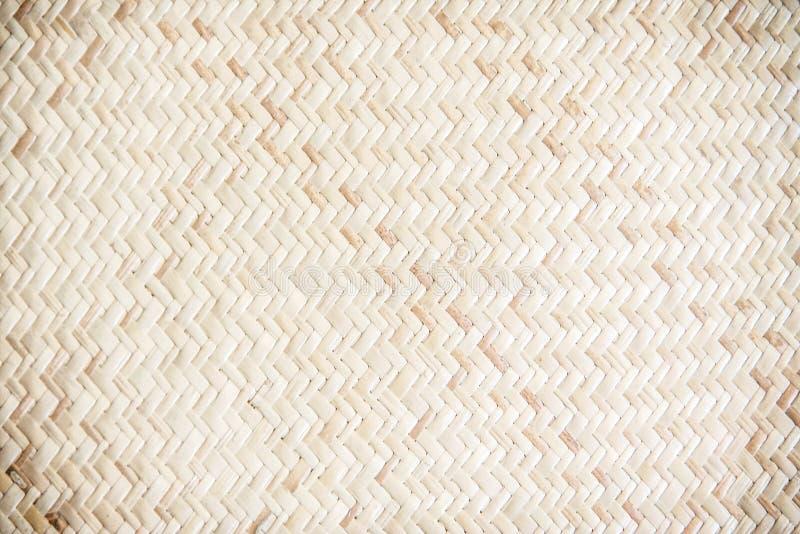 Tradycyjny handcraft drewno wyplatającą teksturę, natura wzory dla tła obraz royalty free