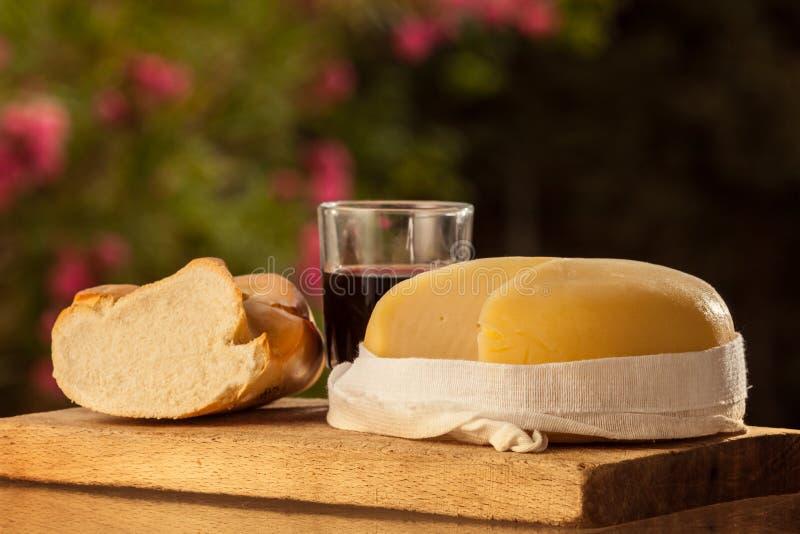 Tradycyjny Hiszpański ser Od Galicia fotografia royalty free