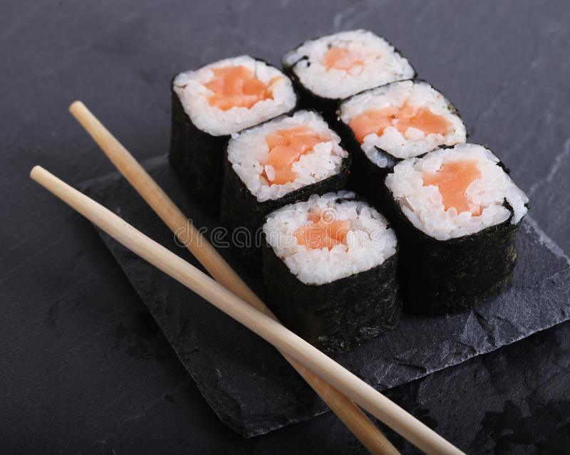Tradycyjny Japoński jedzenia zakończenie up zdjęcie royalty free