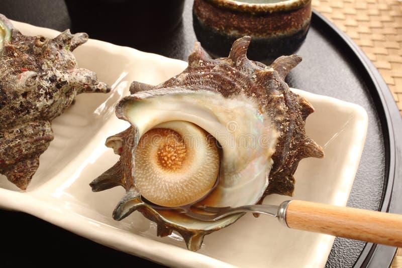 Tradycyjny Japoński karmowy Sazae zdjęcia stock