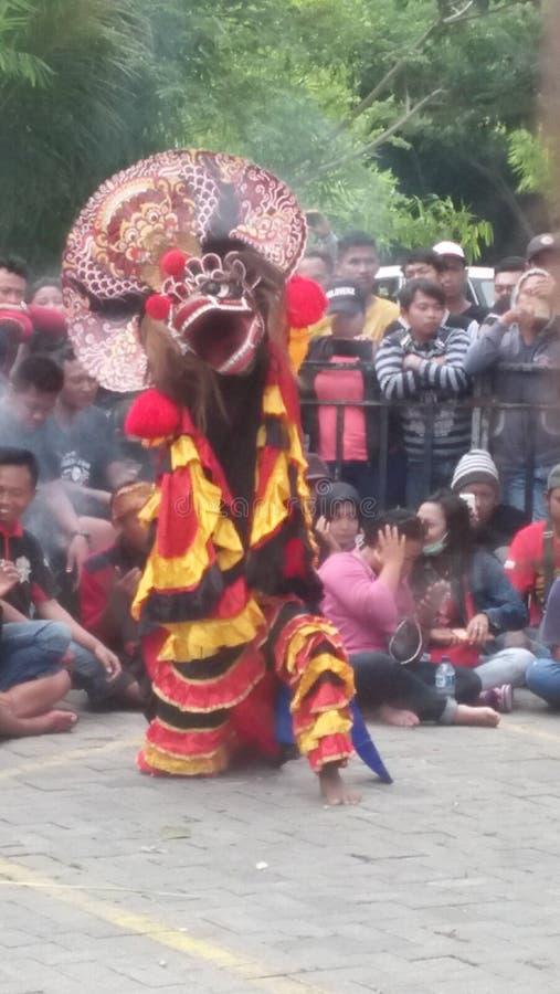 Tradycyjny Java taniec obrazy royalty free