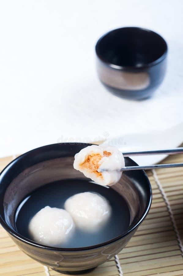 Chińska glutenowa ryżowa piłka zdjęcia royalty free