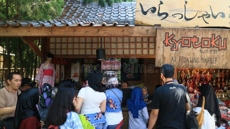 Tradycyjny Kimonowy wynajem zdjęcia stock
