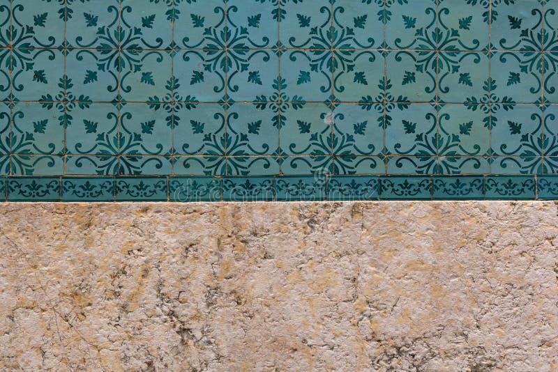 Tradycyjny Lisbon tafluje tło fotografia royalty free