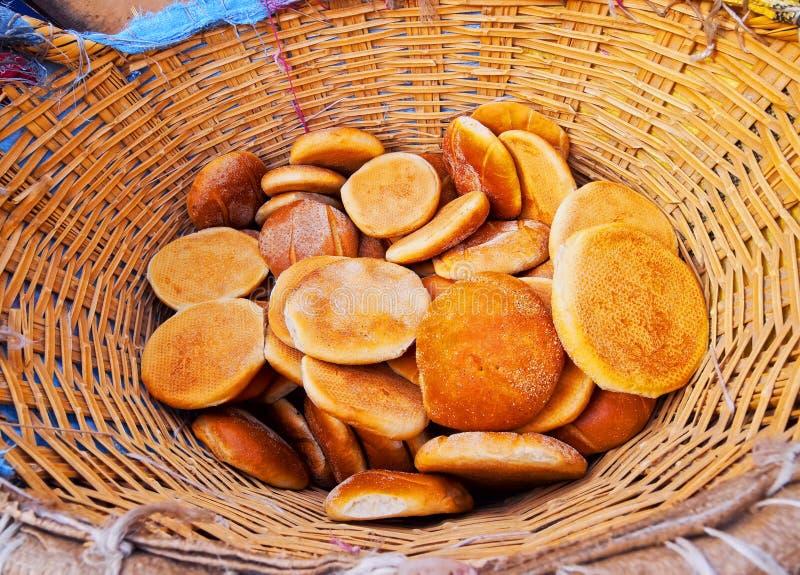 Tradycyjny Marokański chleb zdjęcia stock