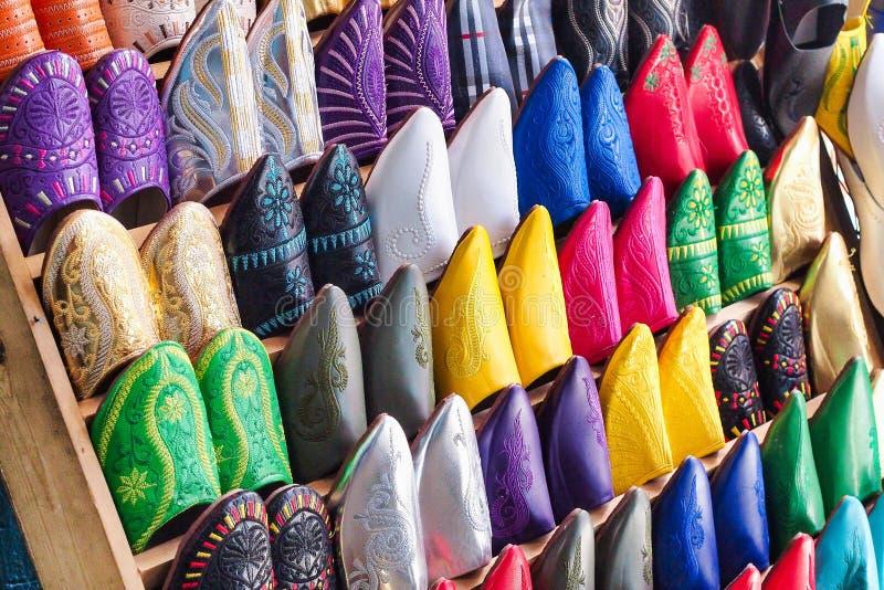 Tradycyjny maroka?ski rynek w Chefchaouen Maroko, Afryka zdjęcie stock