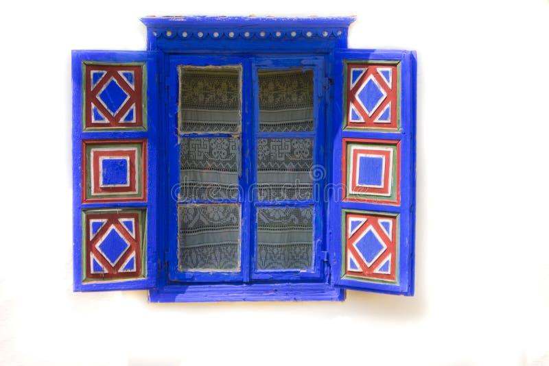 Tradycyjny okno zdjęcia stock