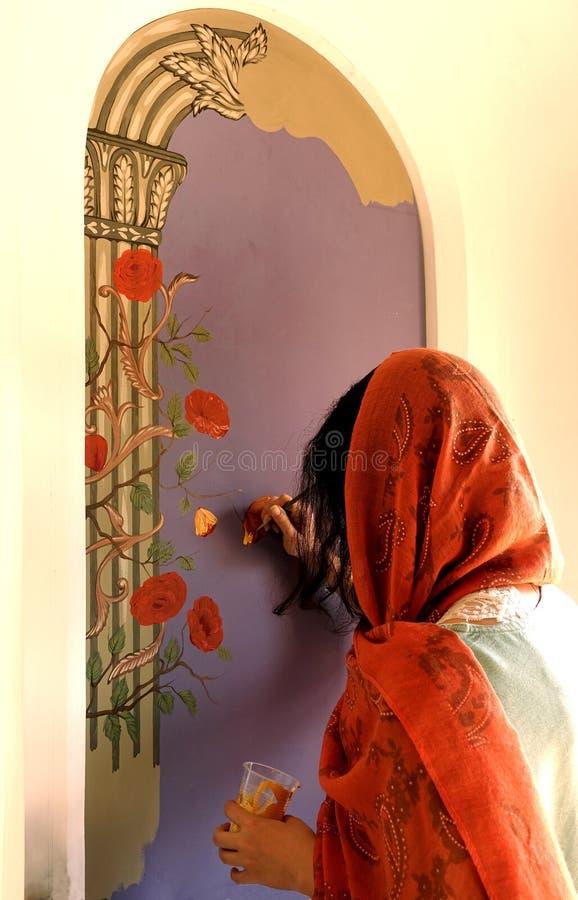 Tradycyjny Perski obraz fotografia royalty free
