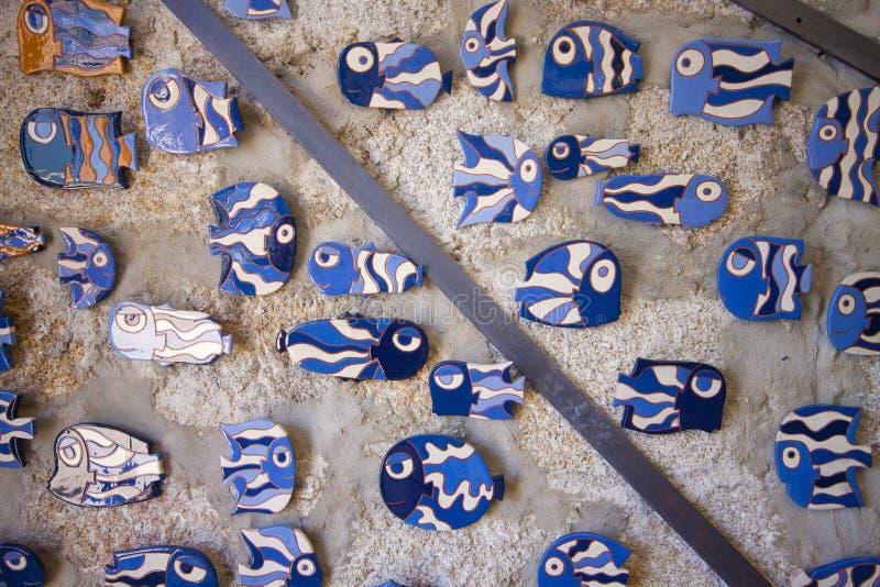 Tradycyjny portuguese ceramiczny, w Porto zdjęcie royalty free