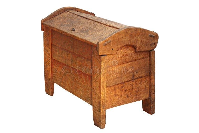 Tradycyjny posagowy kaseton zdjęcie stock