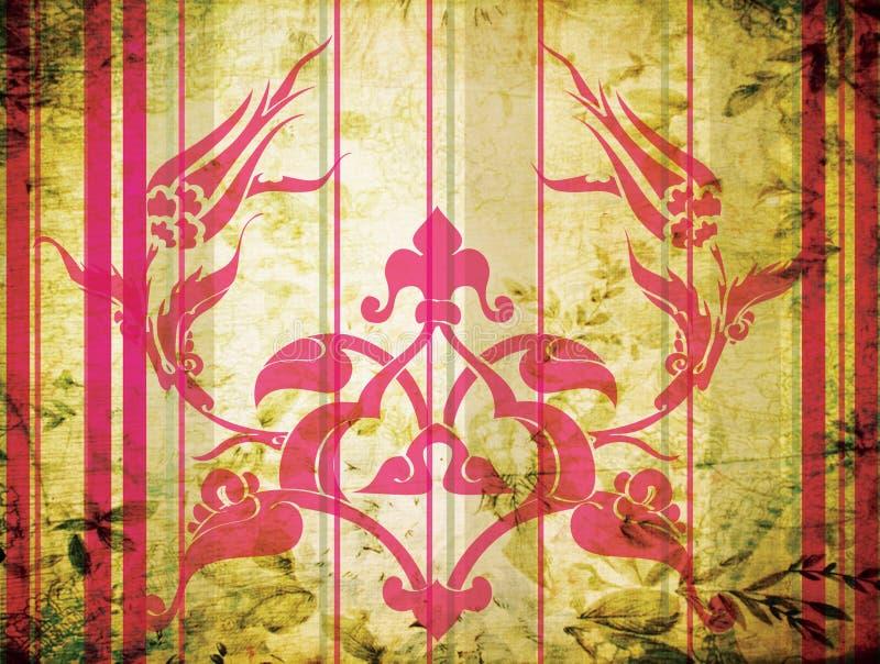 tradycyjny projekta ottoman royalty ilustracja