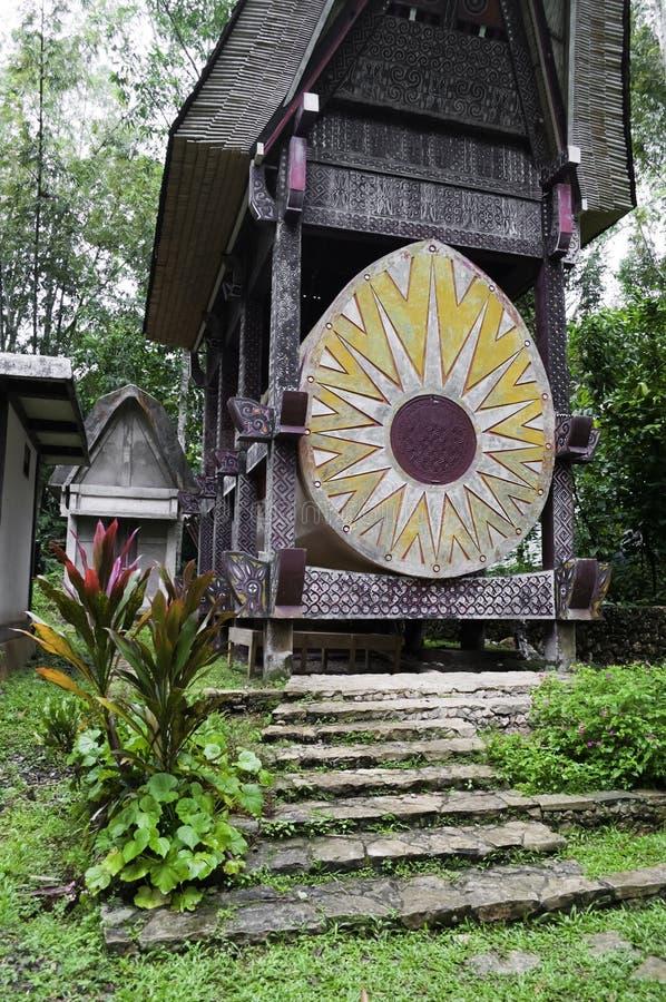 tradycyjny rodzinny grobowcowy toraja zdjęcia royalty free