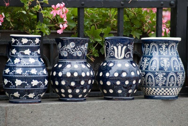 tradycyjny Romania ceramiczny wieśniak fotografia stock