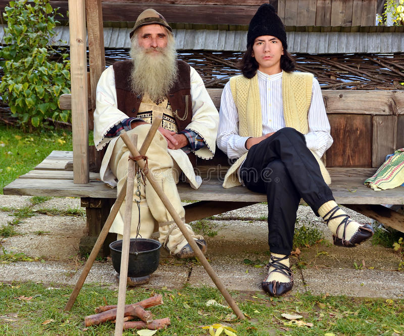 Tradycyjny Rumuński kostium