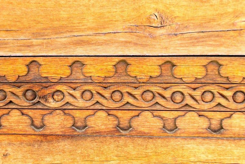 Tradycyjny rzeźbiący drewno obraz royalty free