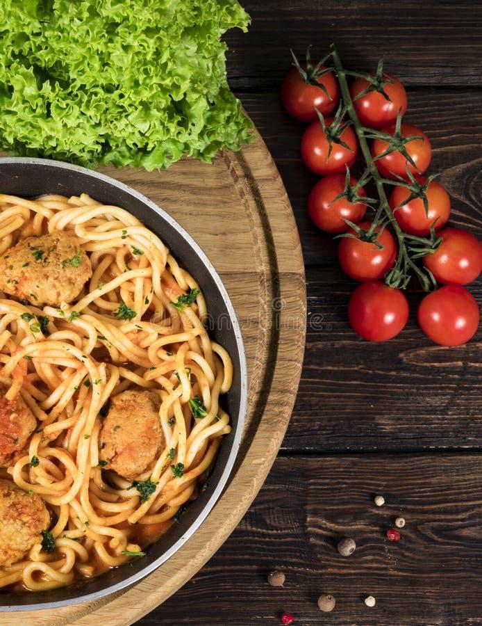 Tradycyjny spaghetti Bolognese zdjęcia stock