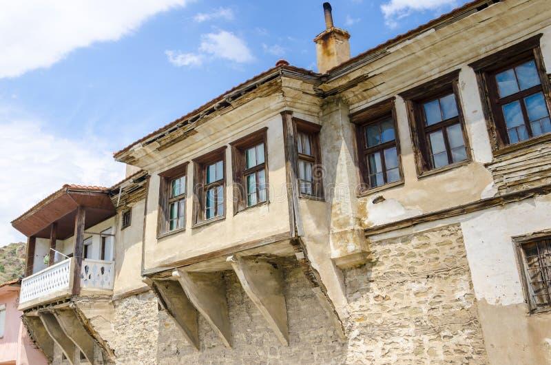 Tradycyjny stary dom w Macedonia zdjęcie royalty free