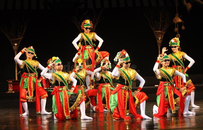 Tradycyjny taniec zdjęcia stock