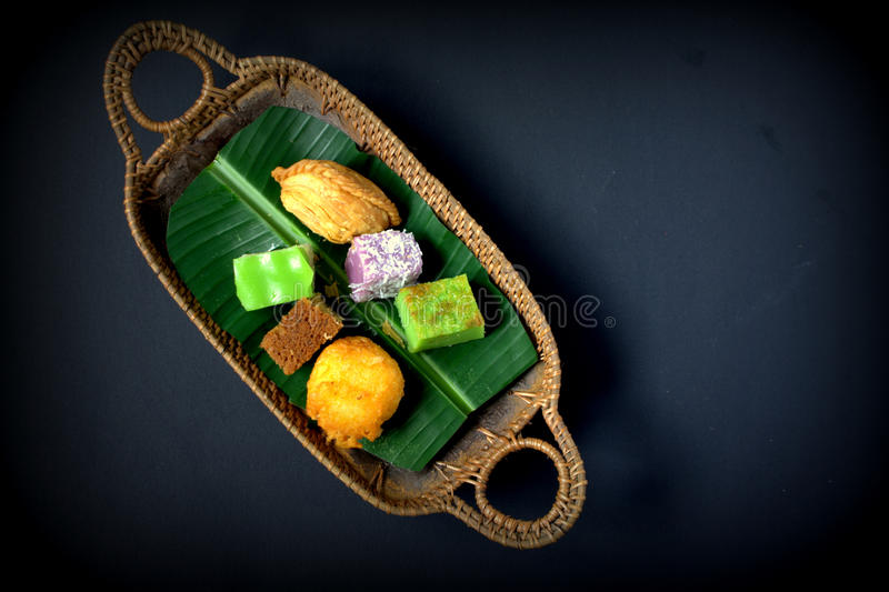 Tradycyjny tort Malezja & Indonezja obraz royalty free