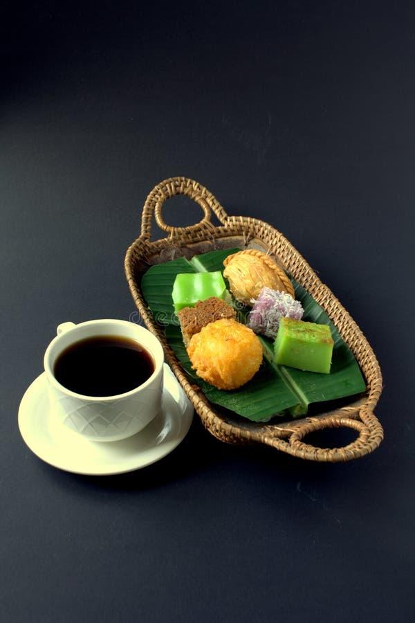 Tradycyjny tort Malezja & Indonezja fotografia stock