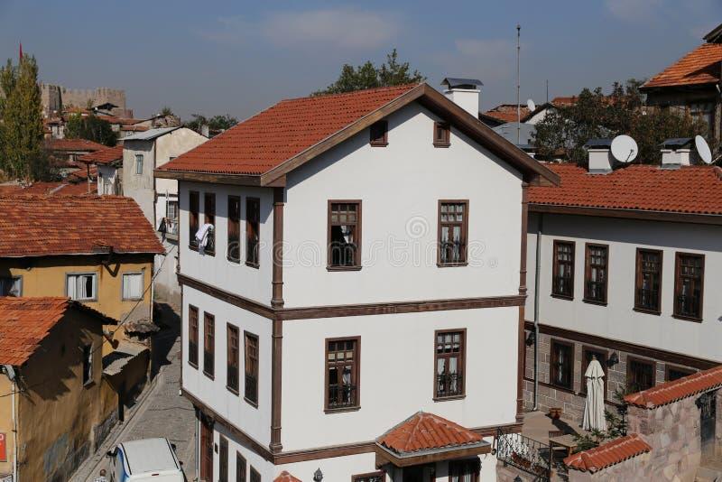 Tradycyjny turecczyzna dom w Ankara mieście zdjęcia royalty free
