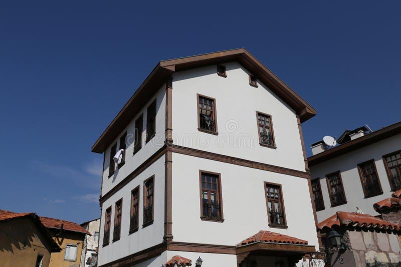 Tradycyjny turecczyzna dom w Ankara mieście obraz royalty free
