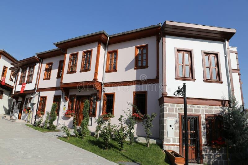 Tradycyjny turecczyzna dom w Ankara mieście obrazy royalty free