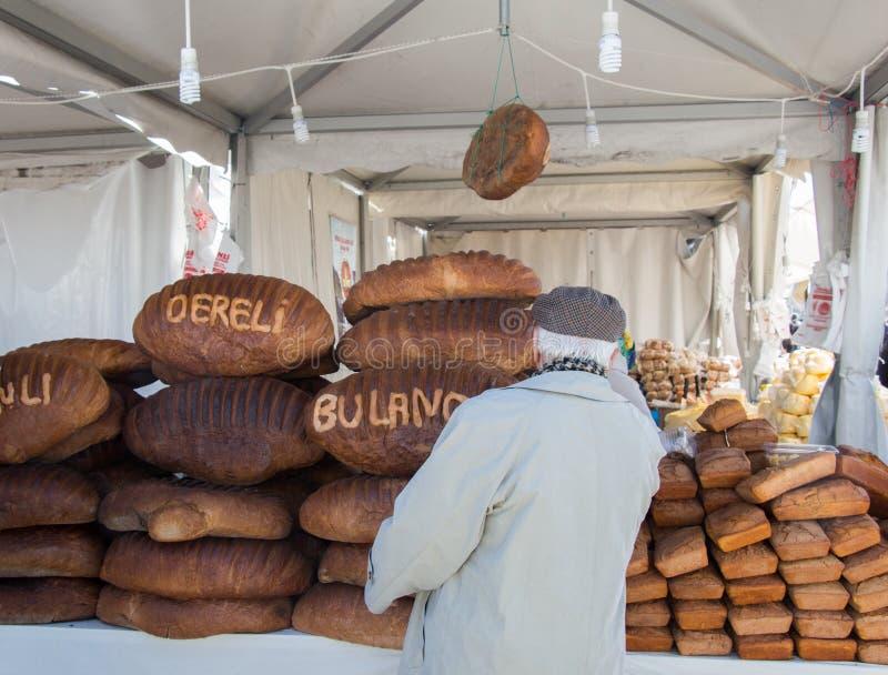 Tradycyjny turecczyzna styl zrobi? chlebowi zdjęcie stock