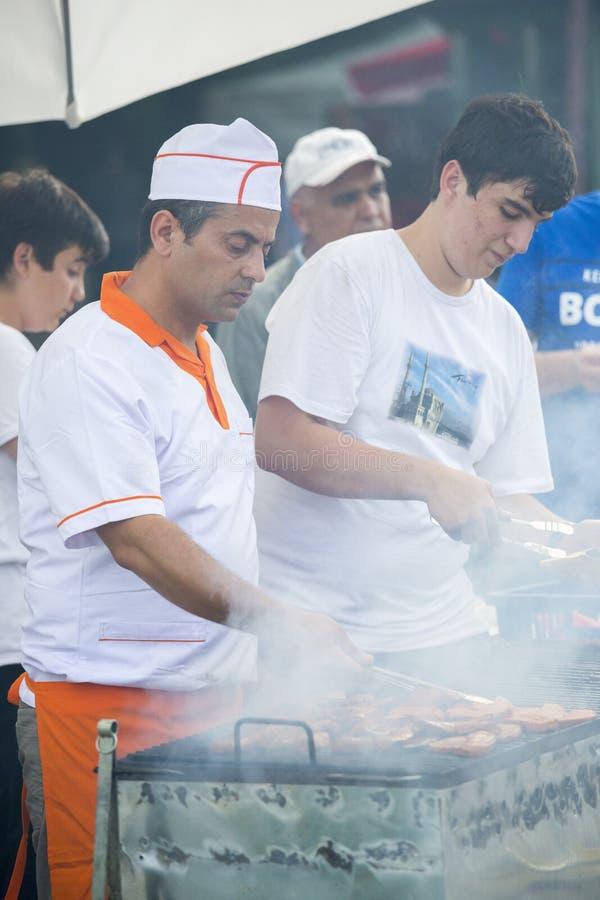 Tradycyjny Turecki grill fotografia royalty free