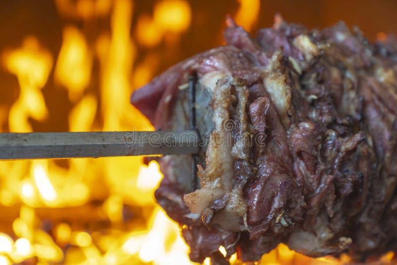 Tradycyjny Turecki jedzenie, turecczyzna Kebap, zdjęcia royalty free