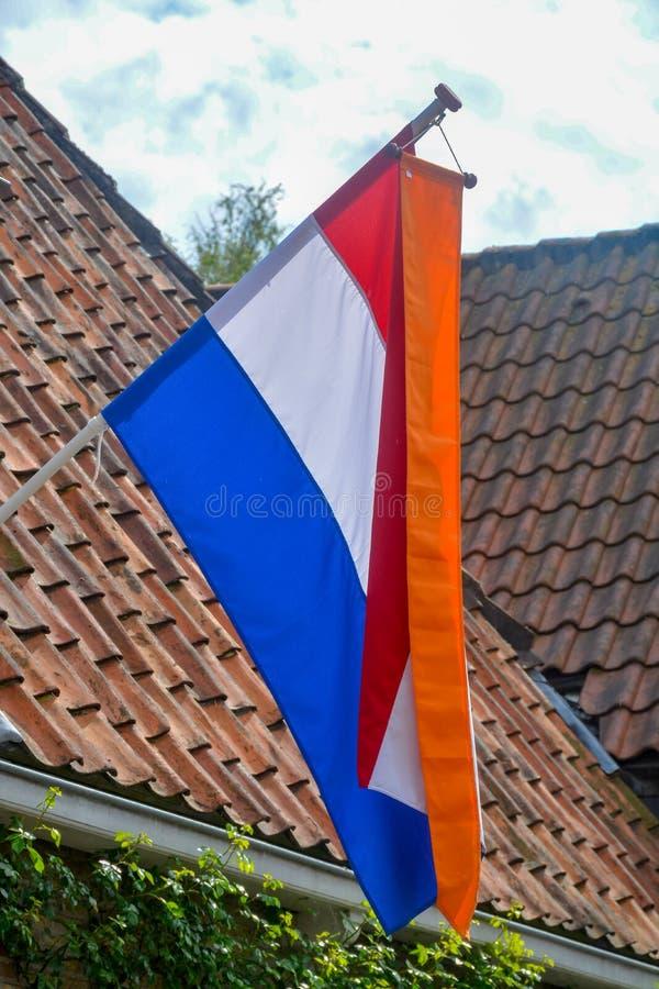 Tradycyjny urodzinowy świętowanie królewiątko holandie Aleksander królewiątko, s dnia święto narodowe na Kwietniu 27, «, holender obraz stock