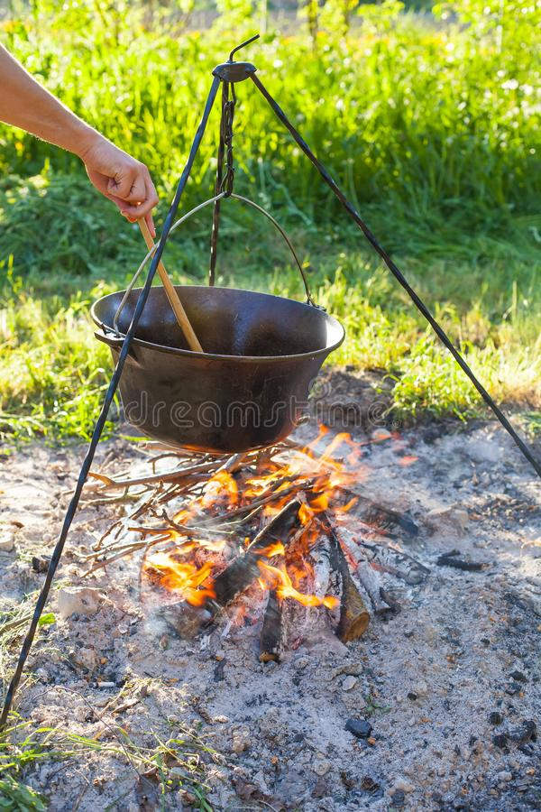 Tradycyjny Węgierski goulash zdjęcia stock