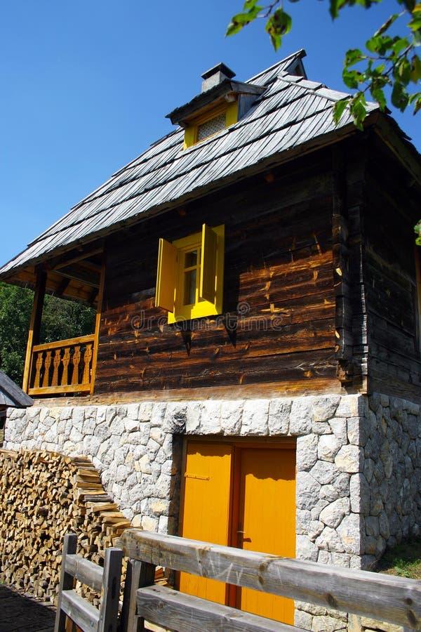 tradycyjny wiejski serbian obraz stock