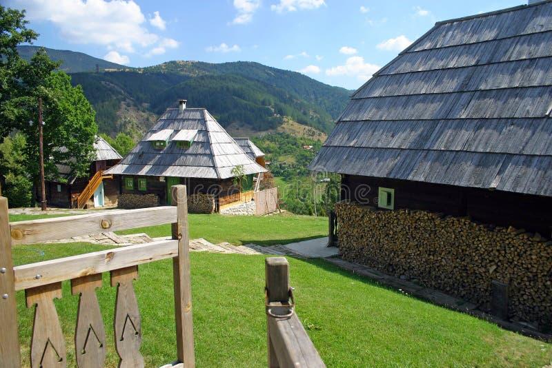 tradycyjny wiejski serbian fotografia stock