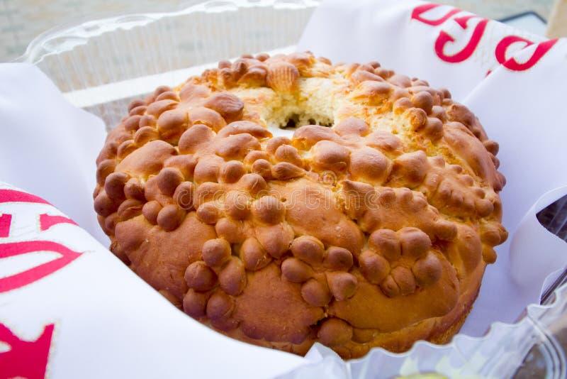 Tradycyjny wschodni Europa ślubny chleb fotografia stock