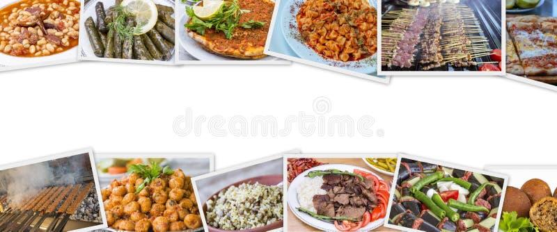 Tradycyjny wy?mienicie Turecki foods kola? karmowa poj?cie fotografia fotografia royalty free