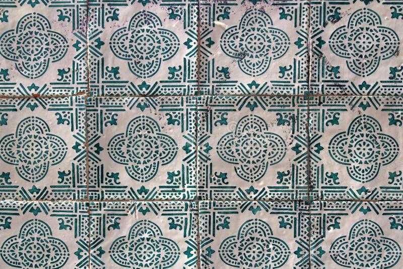 tradycyjnych portuguese płytek zwani azulejos fotografia stock