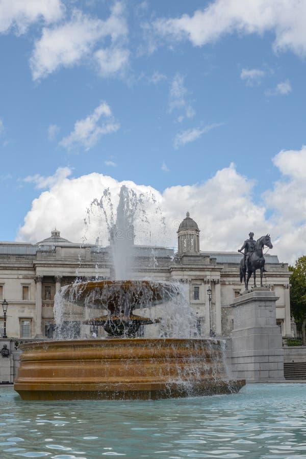 Trafalgar Square London royaltyfri fotografi
