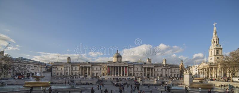 Trafalgar Square mid day royalty free stock photos