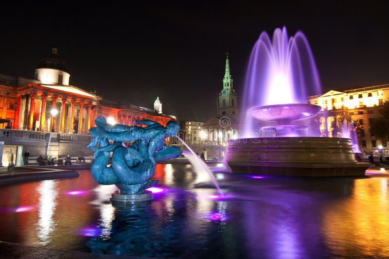 Download Trafalgar Square at Night stock photo. Image of landscape - 11589208