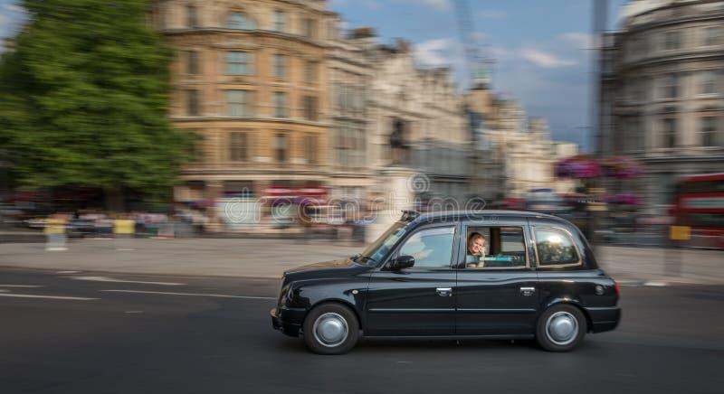 Trafalgar Square stad av London arkivbild