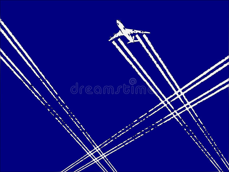 Download Traffic stock vector. Illustration of airplane, internet - 15844936