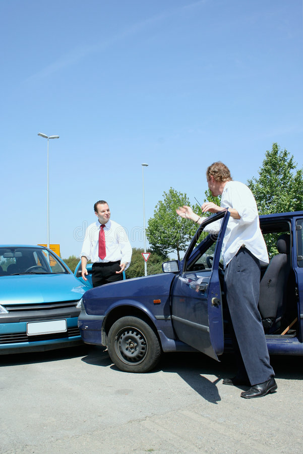 Traffic accident stock images