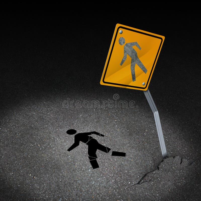 Traffic Accident Injury vector illustration