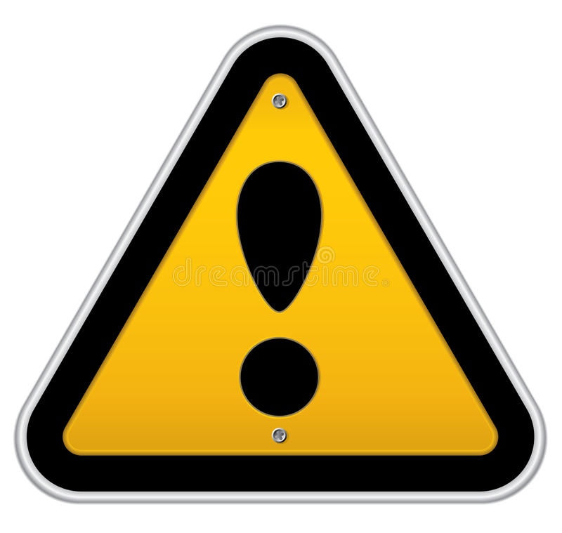 Download Traffic Attention Sign Royalty Free Stock Photos - Image: 11184908