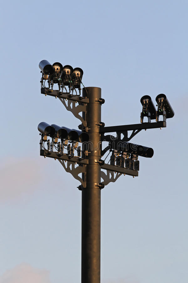 Traffic cams royalty free stock image