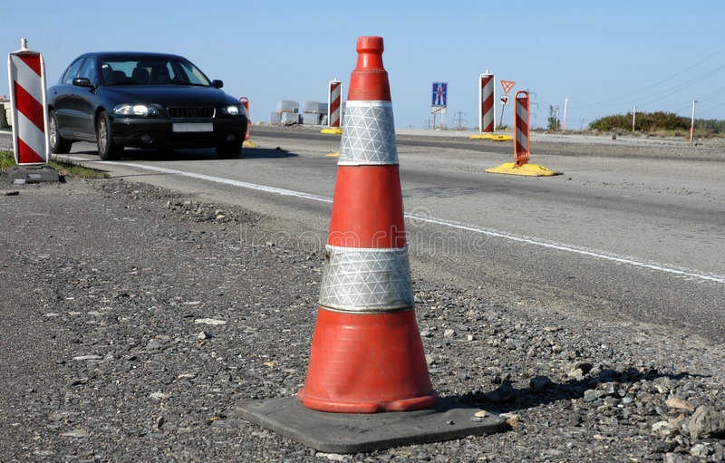 Download Traffic cone stock photo. Image of warning, threat, safety - 1414546