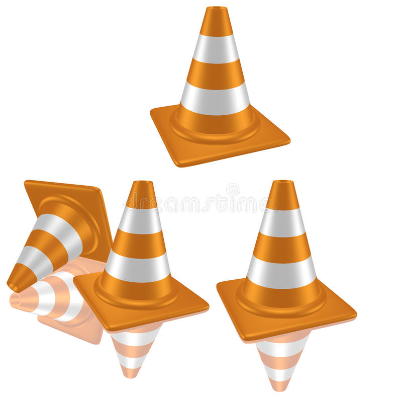 Download Traffic cone stock illustration. Illustration of street - 25008771
